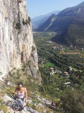 Der Klettersteig Sentiero del Colodri in Arco