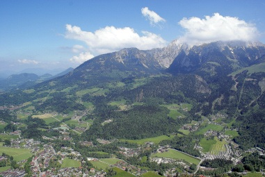 Blick vom Grünstein (1304 m)