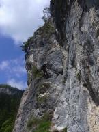 Patruckel am Leite-Klettersteig bei Nassereith