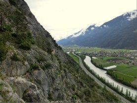Der Crazy Eddy Klettersteig