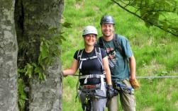 Ausstieg - Hausbachfall Klettersteig