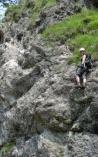 Am Hausbachfall Klettersteig