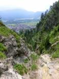 Letzte Meter - Hausbachfall Klettersteig