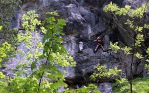 Querung - Hausbachfall Klettersteig