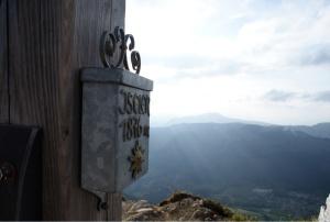 Gipfelkreuz des Iseler (1876 m)
