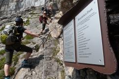 Der Klettersteig auf den Saulakopf (2516 m)
