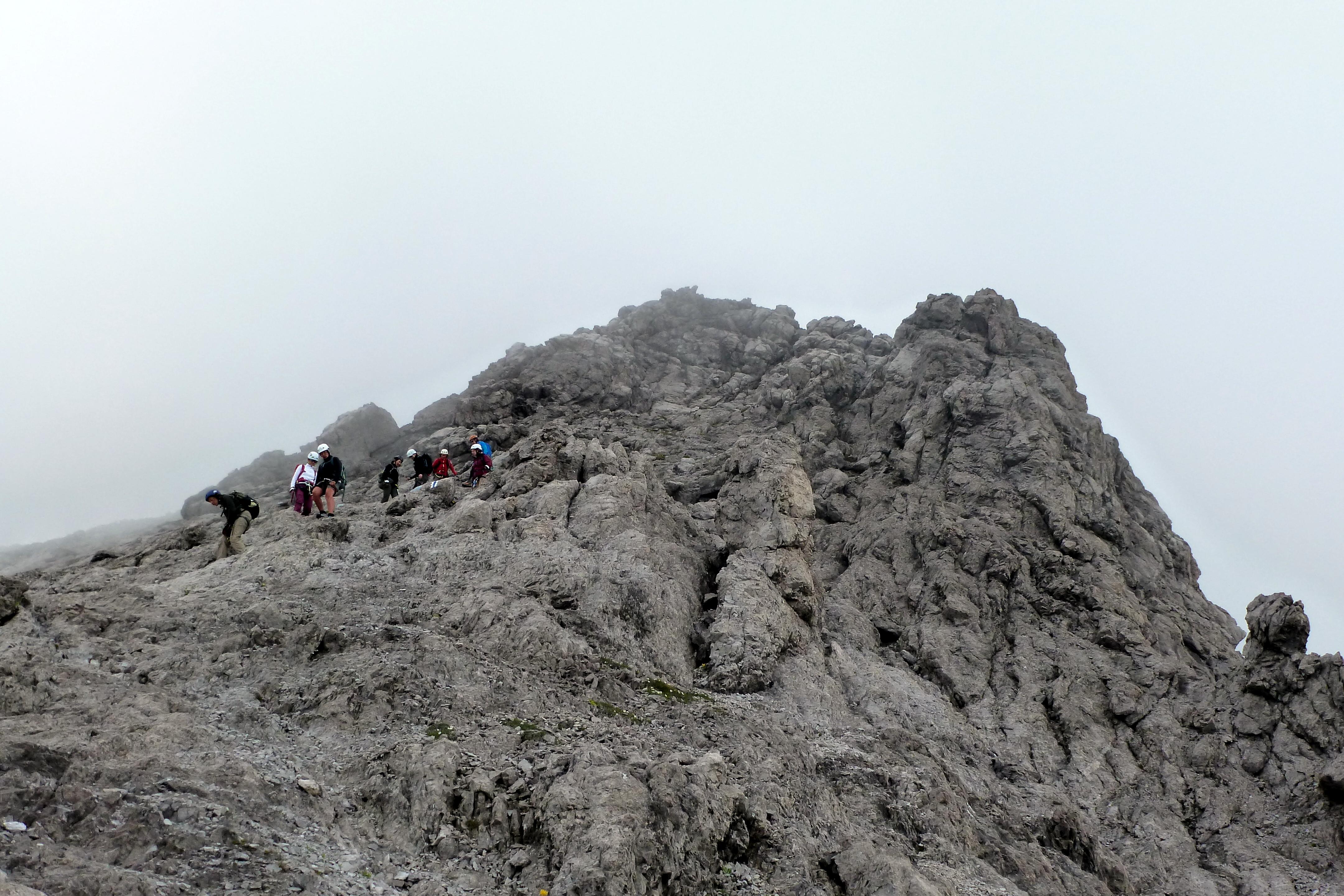 Klettersteig Saulakopf : Bilder vom saulakopf klettersteig im montafon patruckel