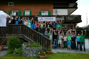 VAUDE Klettersteig-Camp 2013 - Team
