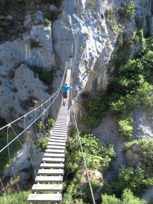 Via ferrata L'Escale, Peille - Patruckel