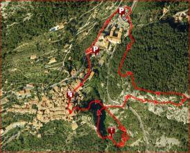 Route: Via ferrata L'Escale à Peille