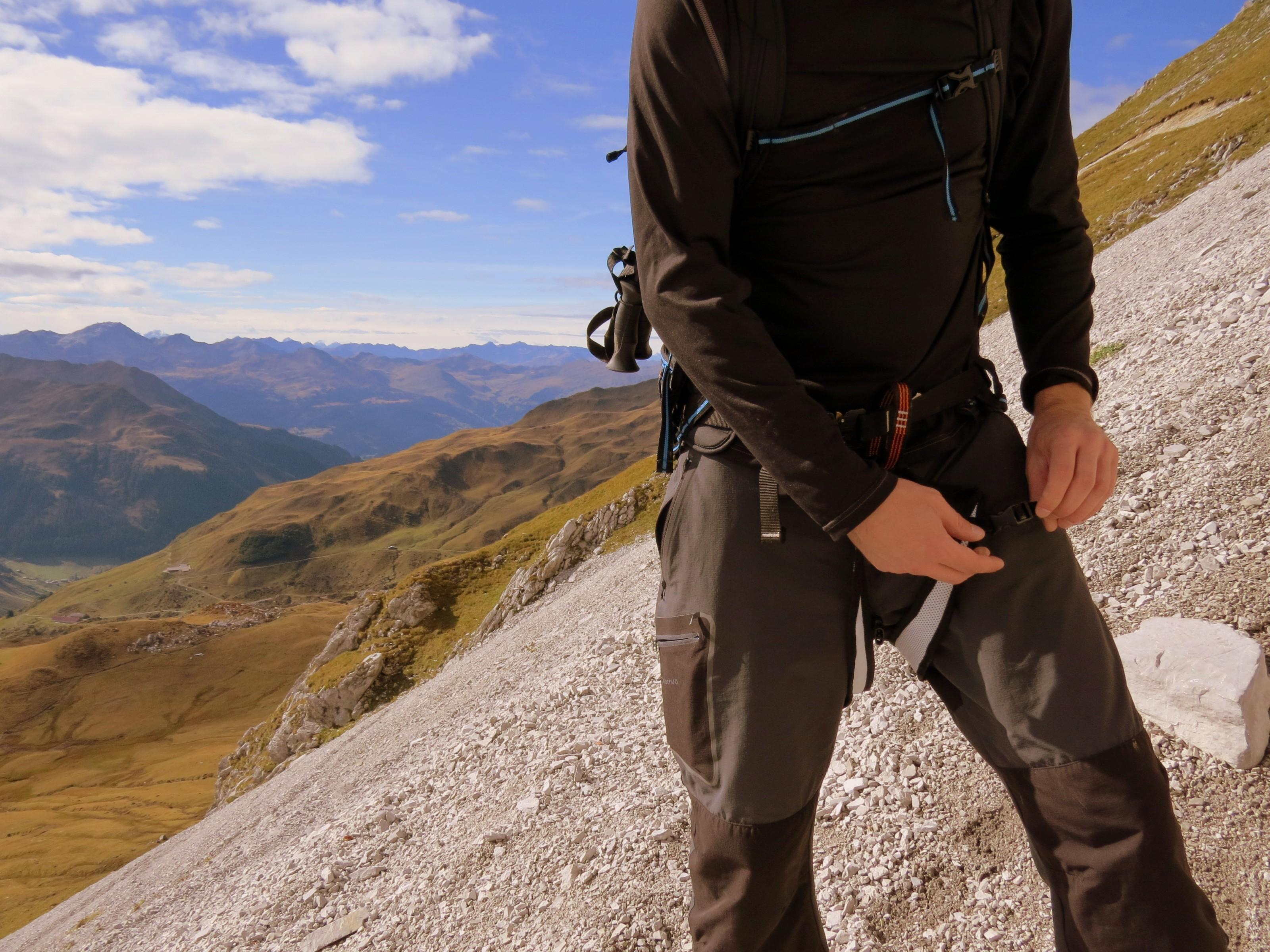 Leichtgewicht Klettergurt : Rucksack im test: der skylotec 32.0 mit integriertem klettergurt