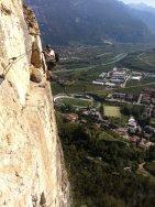 Klettersteig Monte Albano, Mori - Patruckel