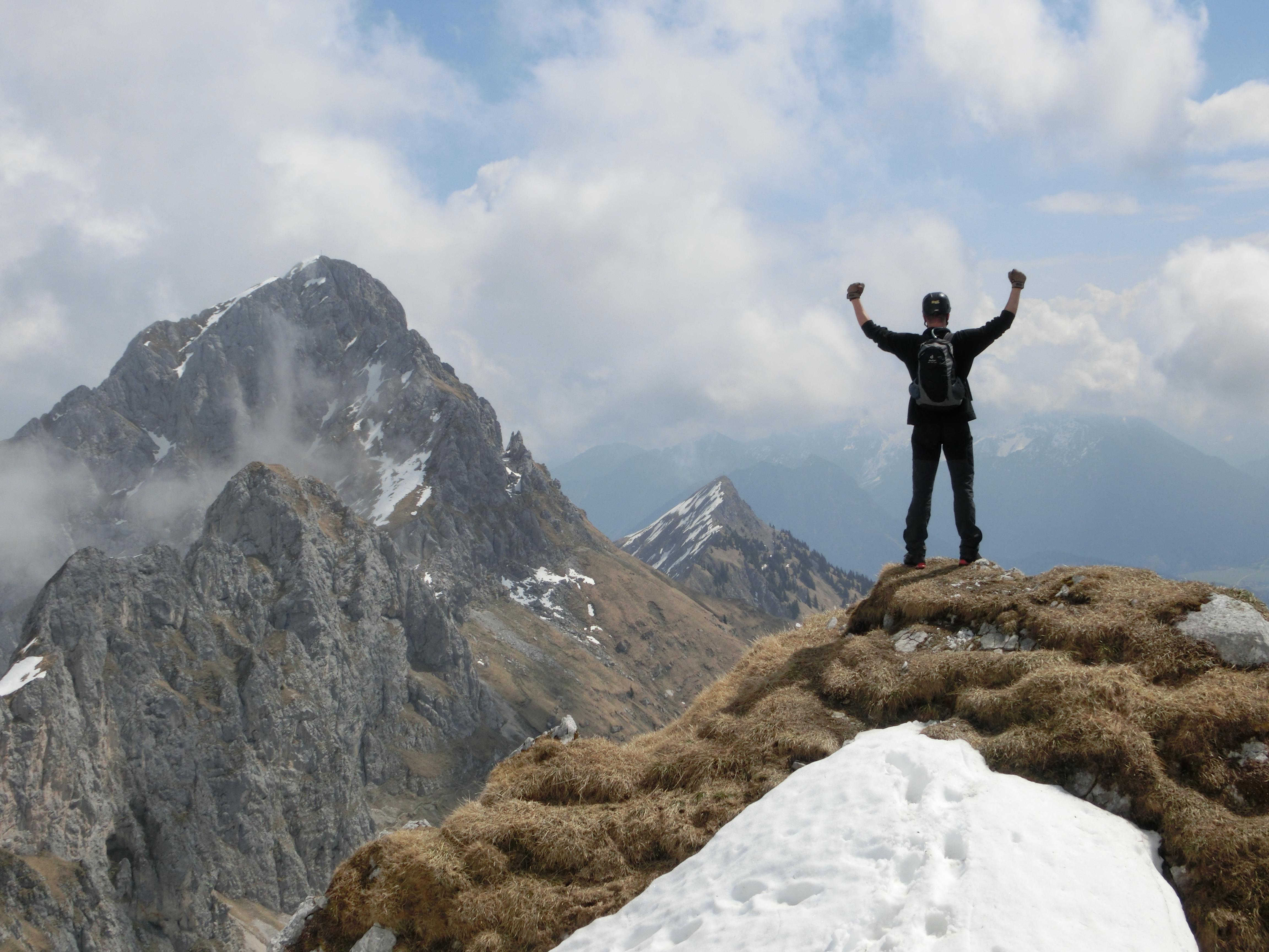 Friedberger Klettersteig : Endlich wieder am fels der friedberger klettersteig im tannheimer