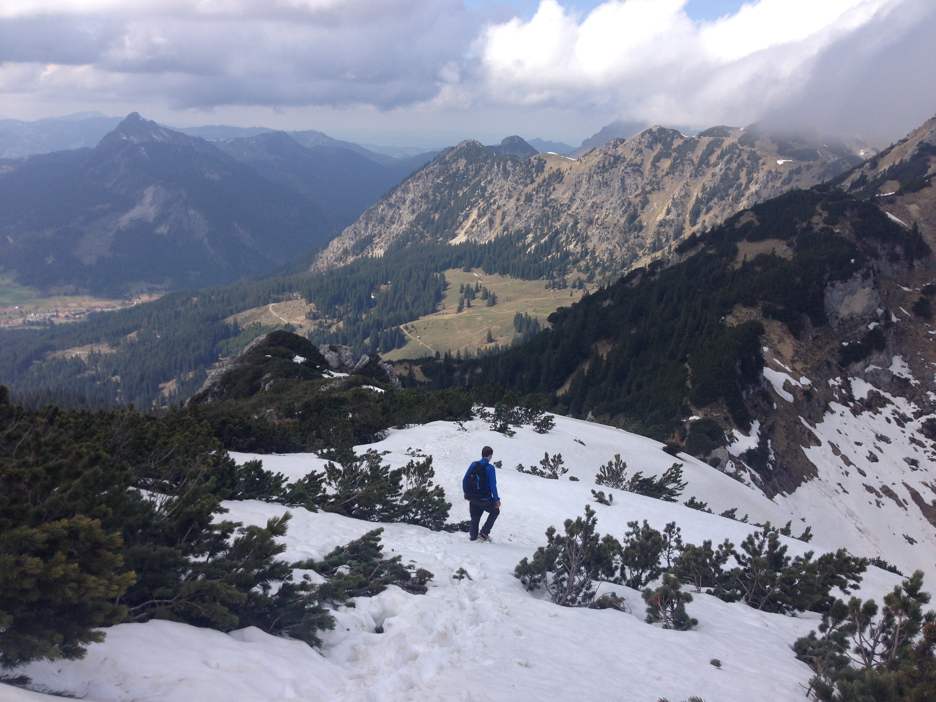 Klettersteig Tannheimer Tal : Endlich wieder am fels der friedberger klettersteig im tannheimer