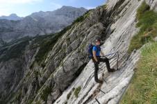 Patruckel Höllental Klettersteig auf die Zugspitze