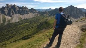Lachenspitze Klettersteig Nordwand - Patruckel