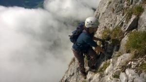 Klettersteig Braunwald Leitereggstock