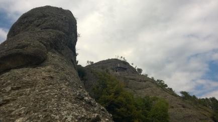 Das Bivaco in Sichtweite