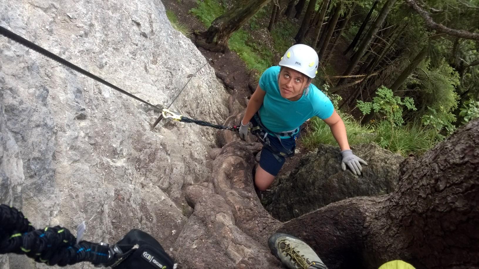 Klettersteig Via Kapf : Klettersteig in götzis voralberg ein triple