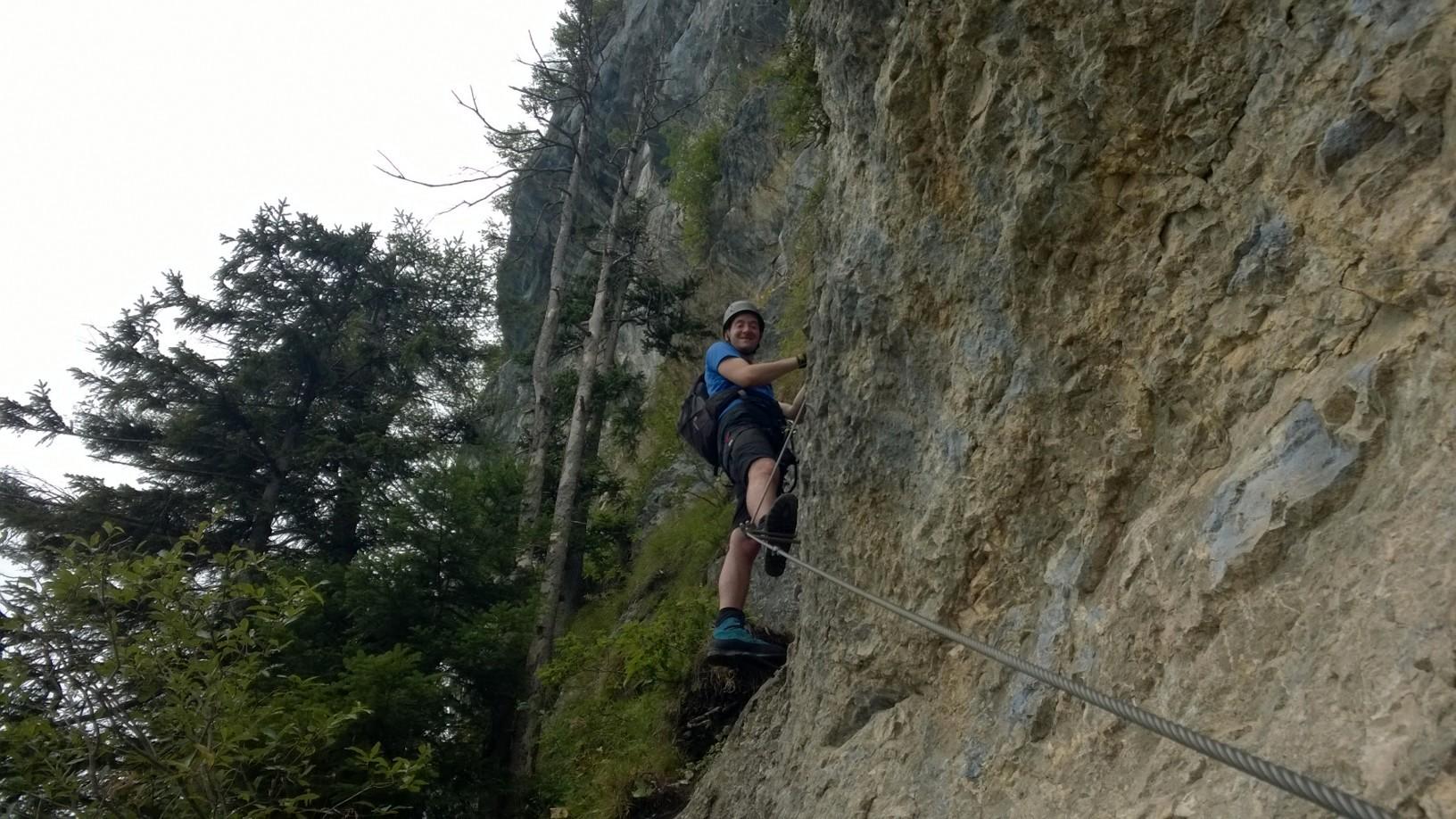 Klettersteig Via Kapf : Kapf klettersteige via kessi t o u r e n s p