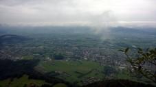 Via Kapf Klettersteig Aussicht Rheintal
