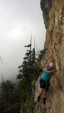 Via Kapf Klettersteig Traverse