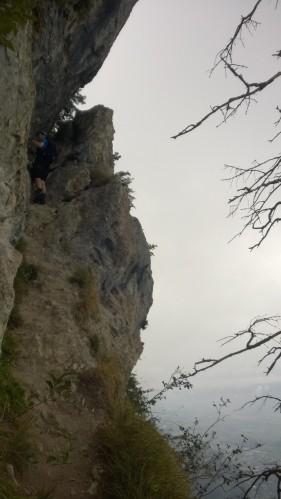 Via Kapf Klettersteig Aufschwung