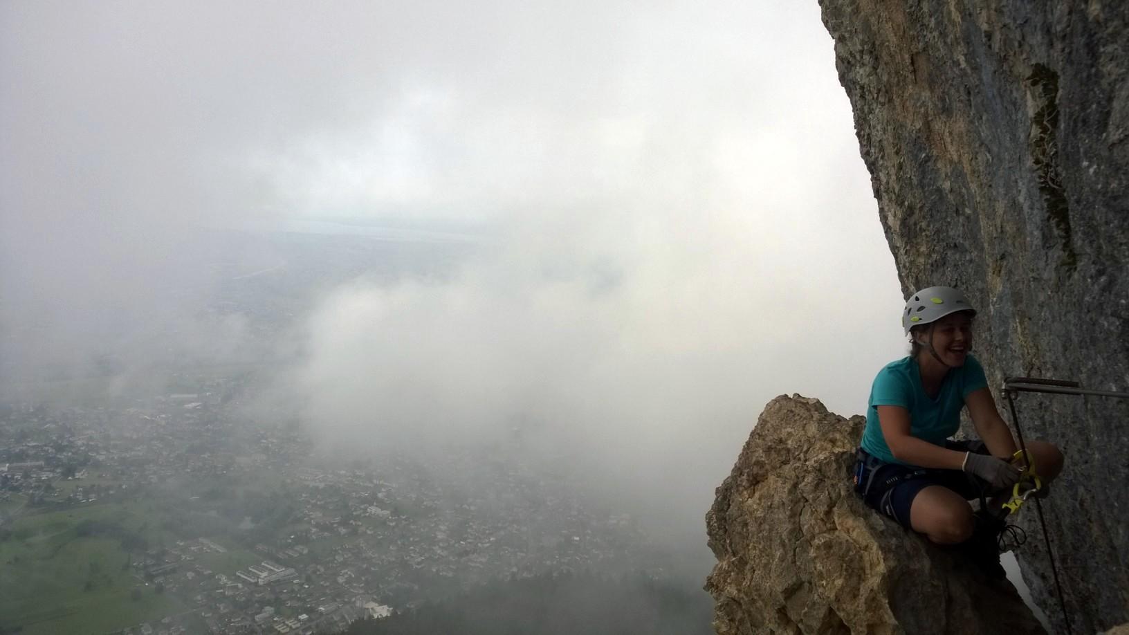 Via Kessi Klettersteig : Via kapf klettersteigen kurz und knackig d e patruckel