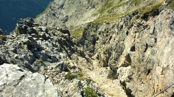 Steinbock am Mindelheimer Klettersteig