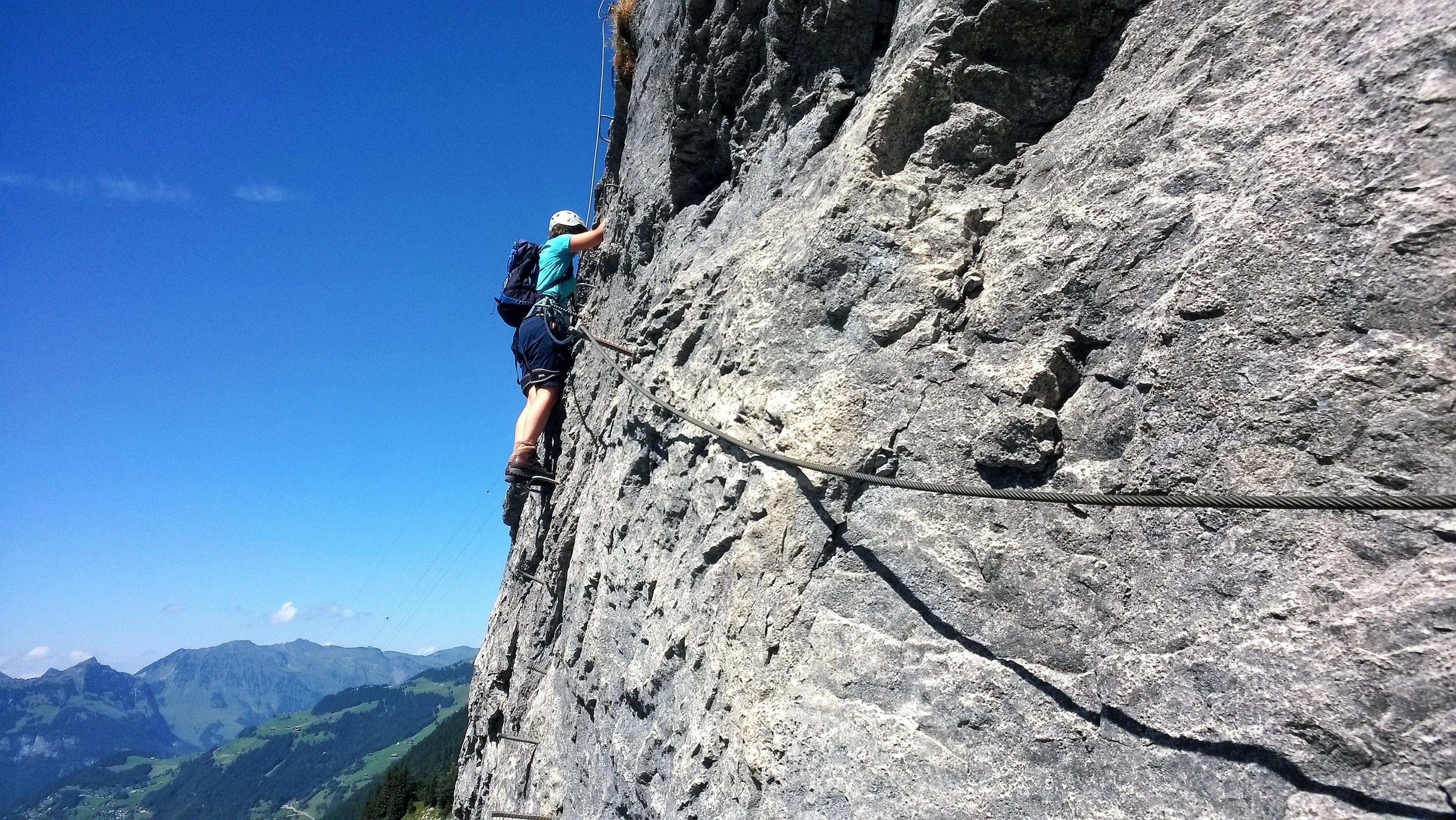 Klettersteig Fürenalp : Der fürenwand klettersteig c d : ein heißer ritt auf steilem fels