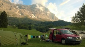 Eiger Nordwand Camping