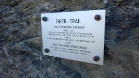 Eiger-Trail Tafel