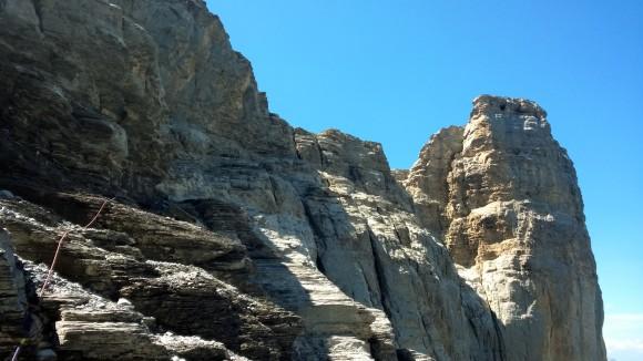 Fixseil Rotstock-Klettersteig