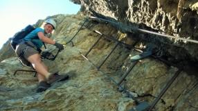 Klettersteig Rotstock : Der rotstock klettersteig an eiger nordwand b patruckel