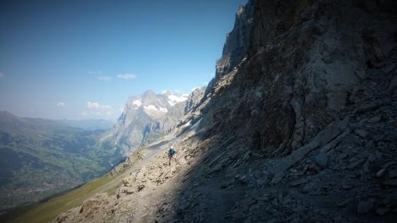 Einstieg Rotstock-Klettersteig