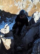 Aufstieg Karhorn Otgrat Klettersteig
