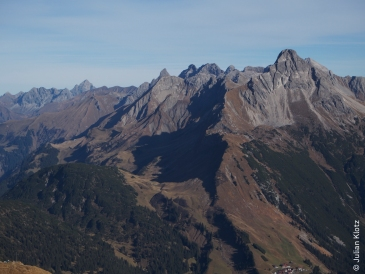 Karhorn Gipfelpanorama