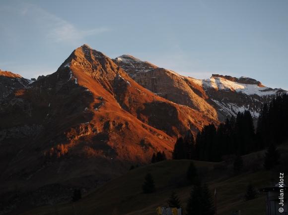 Abendsonne im Bregenzerwald