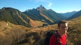 Aufstieg von Warth zum Karhorn