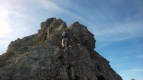 Am Karhorn Ostgrat Klettersteig