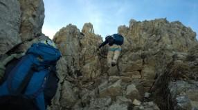 Karhorn Ostgrat Klettersteig