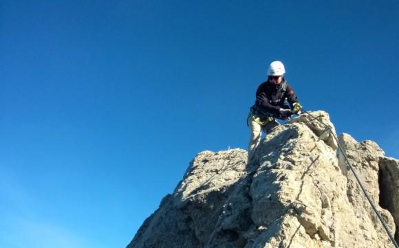 Karhorn Westgrat Klettersteig