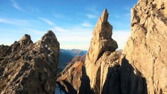Am Karhorn Westgrat Klettersteig