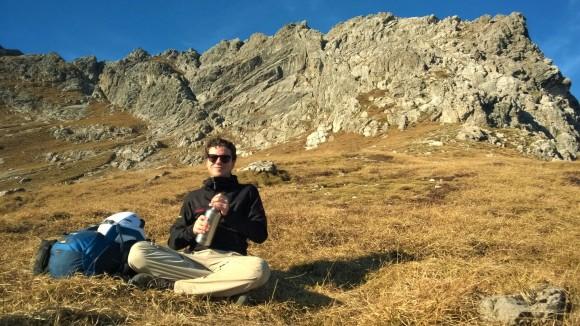 Karhorn Klettersteig von Süden